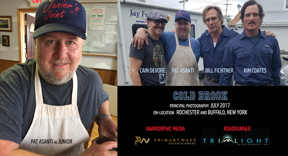 Cain Devore Writer-Producer, Pat Asanti as Junior, Bill Fichtner Writer-Producer-Director-Actor, Kim Coates Producer-Actor