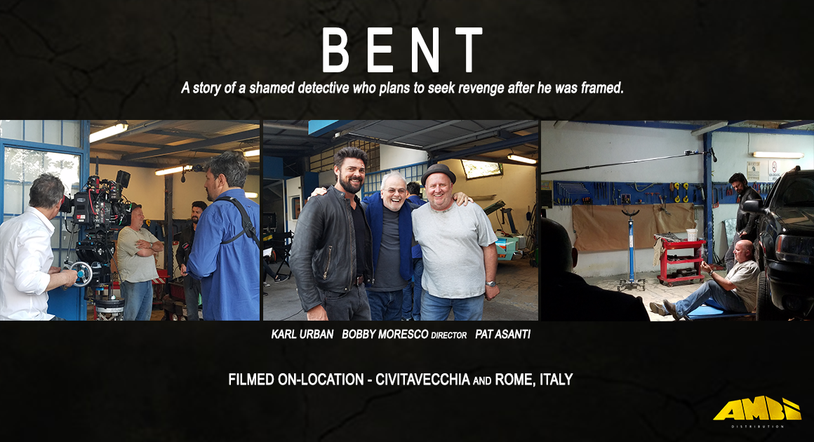BENT | On-location Rome Italy | Pat Asanti